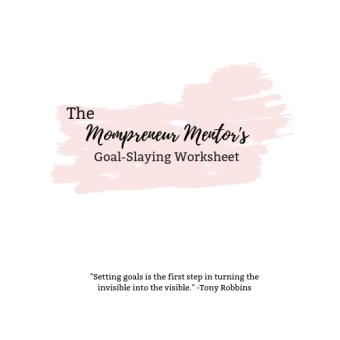 Goal Slaying Worksheet